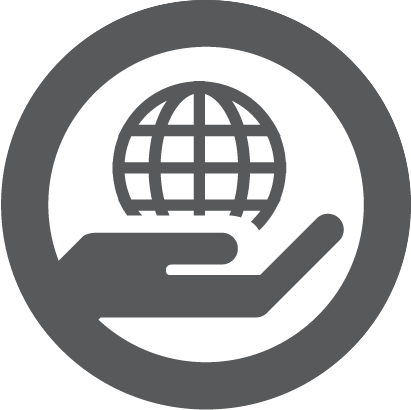 care for earth icon