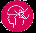salon hair cut icon
