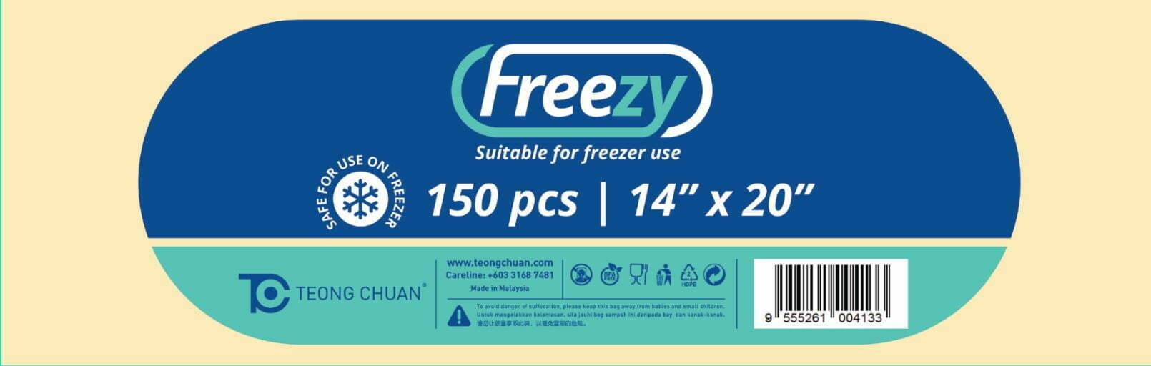 Teong Chuan Freezy plastic bag