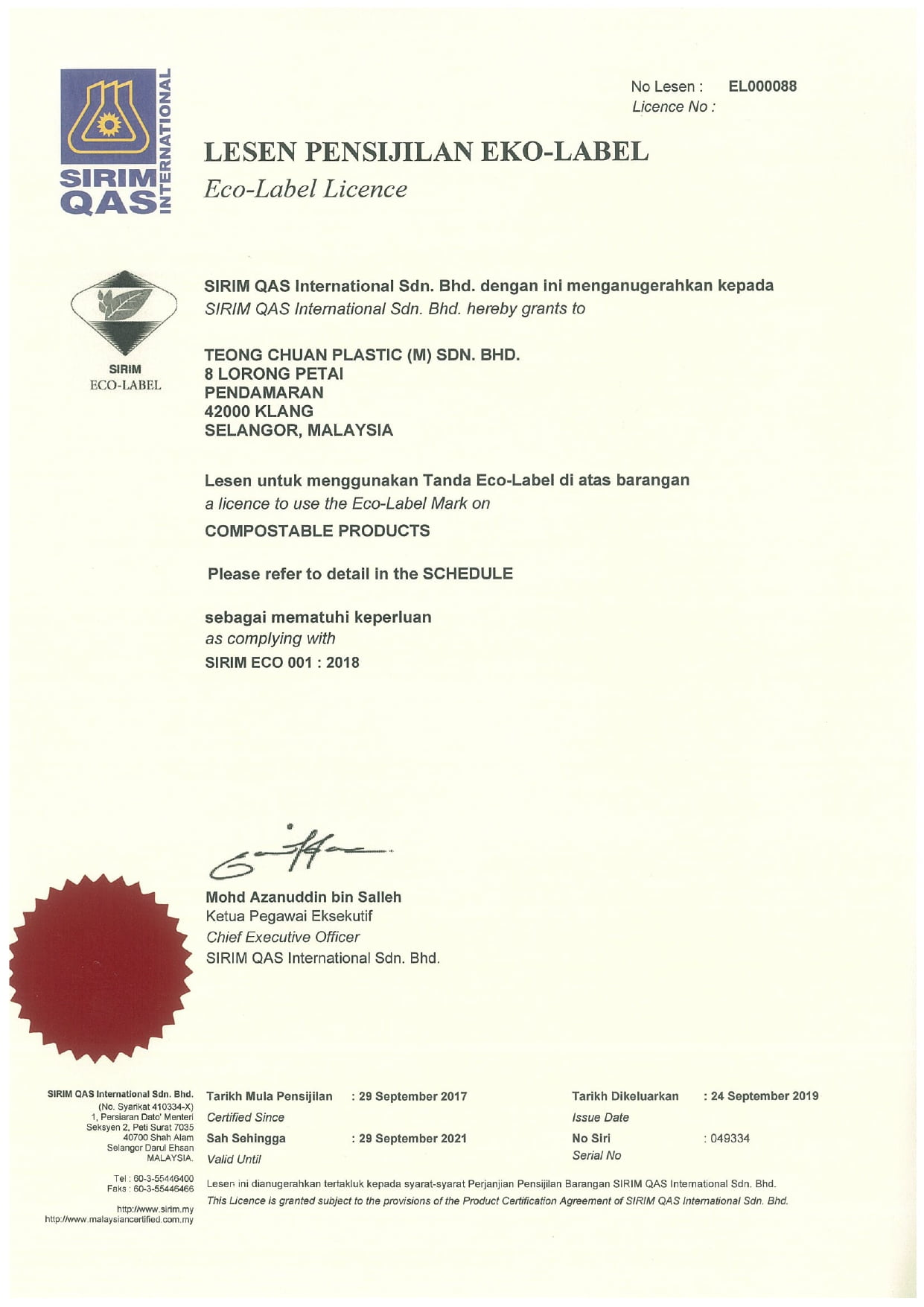 SIRIM Eco Label Certificate Sept 2019 - 2021_page-0001