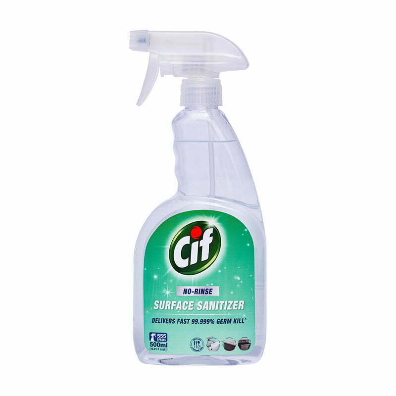 CIF No-Rinse Surface Sanitizer 500ml